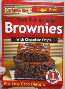 low carb brownie mix